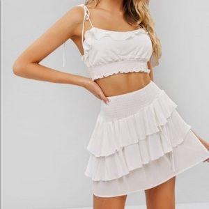 Zaful White Set